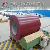 La couleur de PVDF a enduit la bobine en acier en aluminium