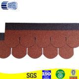 Precio de fábrica hermoso de la ripia del asfalto del azulejo de material para techos del chalet