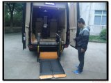 Ascenseur de fauteuil roulant entièrement électrique de la CE pour Van avec la plate-forme de fente (WL-D-880S-1150)