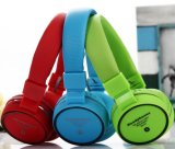 Auricular sin hilos del auricular del receptor de cabeza de Bluetooth del plegamiento colorido