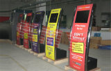 SuperSlim Self Service Inquiry Kiosk mit Touch Screen