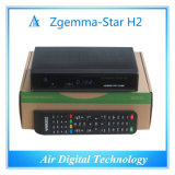 Internet TV Box receptor de satélite DVB S2 DVB T2 Zgemma-Star H2