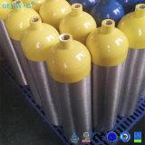 precio de fábrica de aluminio tanque de buceo con cilindro de oxígeno para el Buceo