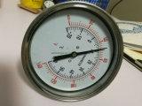 Tipo termometro bimetallico della flangia dell'acciaio inossidabile