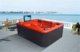 6 personnes massage extérieur bain à remous Whirlpool avec siège plat