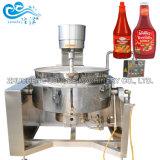 Industriële Grote BBQ van de Ketchup van de Tomaat van de Spaanse peper van de Spaanse peper van de Capaciteit Hete Saus die Kokende Machine maken