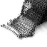 Black Tie recuit de fil de fer coupe droite