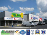 Alameda de compras del marco de acero, mercado estupendo, edificio de oficinas