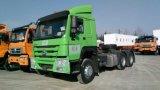 HOWOのトラックヘッド10荷車引きのトレーラーヘッドトラクターのトラック