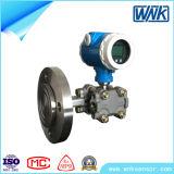 Transmissor de pressão inteligente industrial com diafragma de Flange & 316L