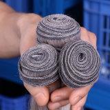 灰色の織り方のブラジルのバージンの人間の毛髪ボディ波の灰色の毛の拡張束100g/PCSの灰色の織り方の人間の毛髪のよこ糸の染料