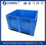 기업 고품질 HDPE 뚜껑을%s 가진 플라스틱 깔판 상자