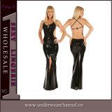 Модный коктейль пайетками женщин долго платье вечерние платья партии (столовую ложку714)
