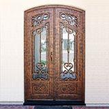Beste Qualität die meiste populäres kundenspezifisches Eisen-doppelte Tür
