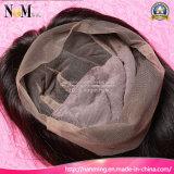 New Design Straight Hair The Wig 100% Indian Glueless Full Lace Wigs com Bangs, Custom Made Dreadlocks Peruca peruca dianteira de renda