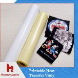 Printable Eco Solvent Heat Transfer Vinyl pour T-shirt personnalisé Impression / vêtement