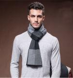 Мужчины мода зимы шерсть нейлон акрил тканого теплые шарфы (YKY4602)