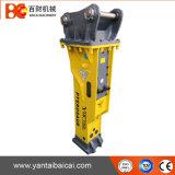 Dyb400s martelo hidráulico de alta qualidade com 75mm cinzel