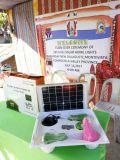 15W off-grid Sistema Solar para lâmpada inicial 11V Sistema inicial Solar com carregador de telemóvel