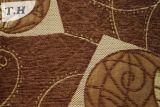Tela de materia textil del sofá de la tela del poliester del poliester