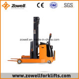 Apilador eléctrico del alcance con 2.0 altura de elevación de la capacidad de carga de la tonelada 1.6m