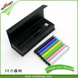 ロゴOのペンのVapeの芽の接触510 Buttonless卸し売りカスタム電池およびUSBの充電器キット