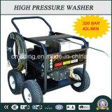 Máquina de limpeza de pressão elétrica da bomba de ar da indústria de 320bar (HPW-QK1842C)