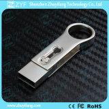 Azionamento rotondo dell'istantaneo del USB di Keychain 8GB OTG del metallo (ZYF1615)