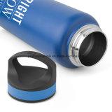 L'acciaio inossidabile mette in mostra le bottiglie di acqua per la promozione