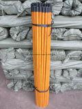 120X2.5/150X2.5cm2.2/120X Poignée de brosse en bois recouvert de PVC/manche à balai revêtus de PVC Bois/Mop revêtus de PVC