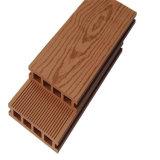 Ingénierie composée en plastique en bois WPC de Decking parquetant le Decking bon marché de WPC