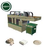 La pulpa de madera Hghy Papel de alta calidad máquina de hacer la placa de Fiambrera