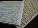 Cordierite infrarosso Honeycomb Ceramic Plate per Heat Exchange