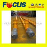 ISO에 의하여 검증되는 플라스틱 나사형 콘베이어 작은 나사형 콘베이어 건설장비