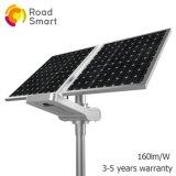 Drahtloses IP65 intelligentes LED Sonnenenergie-Straßen-Straßen-Licht mit Polen