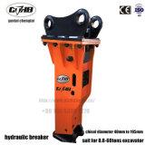 Cthb43 SB43 75mm de diâmetro do cinzel disjuntor de rocha hidráulicas para 6-9Escavadeira ton qualquer tipo Sielnced Caixa de Cor