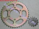 Il pugile CT100 Bm100 Bm150 di Bajaj del motore dei pezzi di ricambio del motociclo dei modelli dell'indiano di Yog scopre 125 135 il pulsar 180 interruttore del main delle 220 di Platina del serbatoio di combustibile ruote dentate degli specchi
