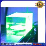3D Inner Green Laser Engraver Machine para gravar vidro