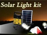携帯用太陽ホームライトFMの無線プレーヤーSre-1006が付いている太陽小型システム10W太陽ランプ