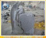 Headstone di disegno di angelo del granito di Paradiso