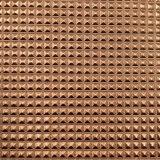 0.5 millimetri del grano di cristallo del sacchetto di cuoio sintetico dell'unità di elaborazione impresso cuoio