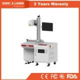 Desktop da máquina 3D da marcação da peça do laser