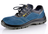 Zapatos de seguridad respirables vendedores calientes del cuero del ante L-7268