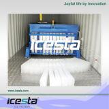 10t/день промышленных блок льда бумагоделательной машины для рыб и системы охлаждения двигателя