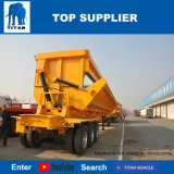 Titan Vehicle Semi Tipping Trailer card Dirty Bucket with 3 Axles for