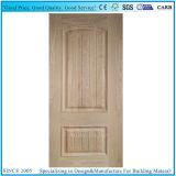 Seles caliente eleva/HDF Muolded línea convexa de la piel de la puerta