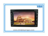 Universal 6.2 '' Two DIN Car DVD Player com GPS