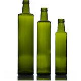 Forme ronde d'OLIVE Huile de sésame Le flacon en verre bocal en verre. Utile et Higene
