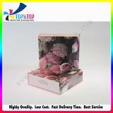 A impressão de flores Creme Hidratante Caixa de oferta