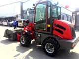 Zl10f Mini Agrícolas Pá carregadora de rodas Multifunções Dianteiro